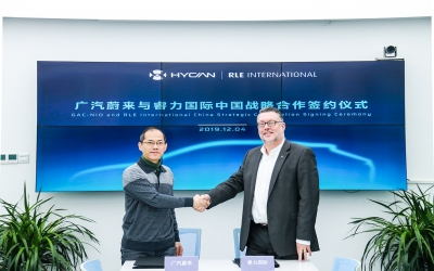 New Strategic Cooperation between GAC-NIO and RLE China